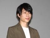 映画『シュウカツ4 人狼面接』舞台あいさつ付き先行上映会に登場した森嶋秀太