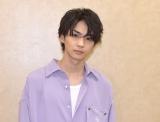 映画『私がモテてどうすんだ』の360度インタビューに応じた吉野北人 (C)ORICON NewS inc.