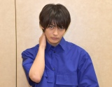 映画『私がモテてどうすんだ』の360度インタビューに応じた神尾楓珠 (C)ORICON NewS inc.