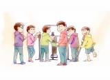 """『おそ松さん』第3期""""超ティザービジュアル"""" (C)赤塚不二夫/おそ松さん製作委員会"""