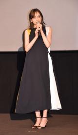 映画『癒しのこころみ〜自分を好きになる方法〜』公開記念舞台あいさつに出席した松井愛莉 (C)ORICON NewS inc.