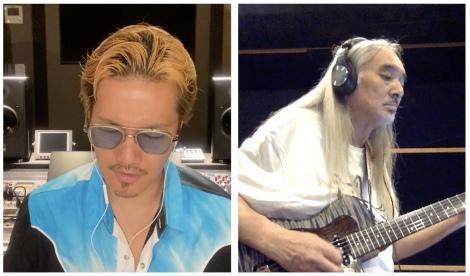 ギタリスト・今剛と「乾杯」セッションの模様=支援を目的とするYouTube チャンネル 『 Musician Aid Japan Project 』 開設