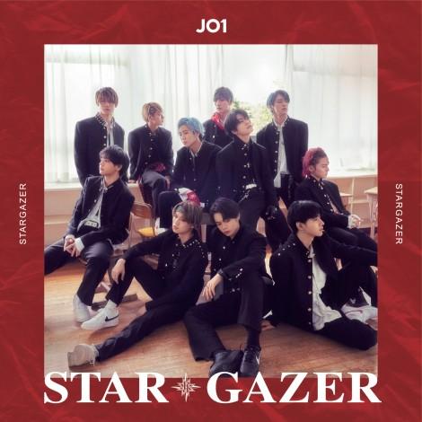JO1 2ndシングル「STARGAZER」初回限定盤A (C)LAPONE ENTERTAINMENT
