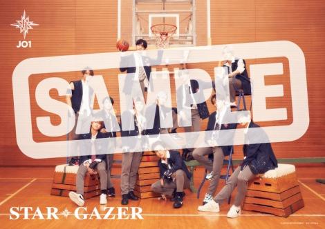 JO1 2ndシングル「STARGAZER」楽天ブックス特典ポスター (C)LAPONE ENTERTAINMENT