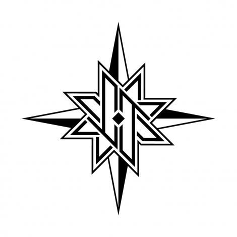 JO1 2ndシングル「STARGAZER」ロゴ (C)LAPONE ENTERTAINMENT