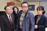 石倉三郎と前田亜季が父娘役でゲスト出演 (C)テレビ朝日