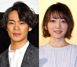 結婚を発表した(左から)小野賢章、花澤香菜 (C)ORICON NewS inc.