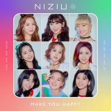 NiziUプレデビュー・デジタル・ミニアルバム『Make you happy』ジャケット