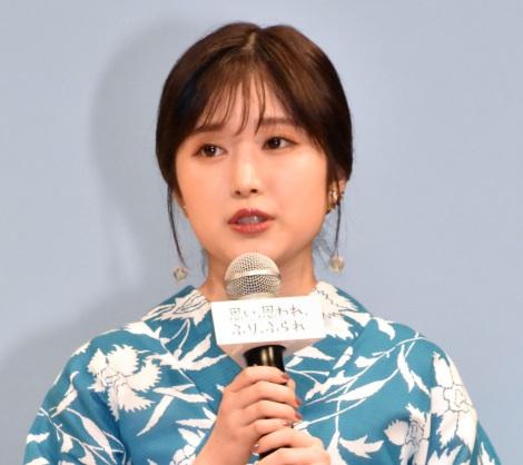 映画『思い、思われ、ふり、ふられ』ふりふらリモート七夕祭りイベントに登場した福本莉子 (C)ORICON NewS inc.