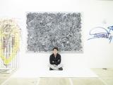 大野智が『FREESTYLE 2020』のために描き下ろした新作の大型細密画