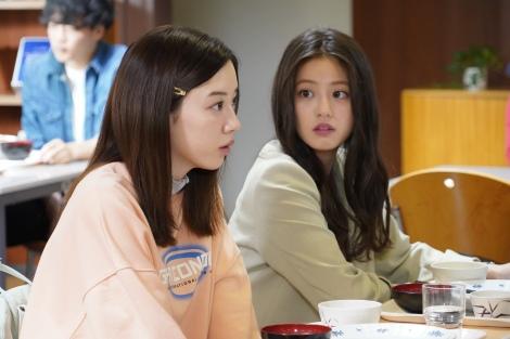 8月2日スタートの『親バカ青春白書』に出演する永野芽郁、今田美桜 (C)日本テレビ