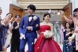 映画『哀愁しんでれら』で2度目の夫婦役を演じる田中圭&土屋太鳳(C)2021 「哀愁しんでれら」製作委員会
