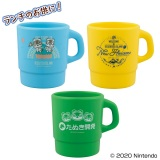 F賞:重ねて収納マグカップ(全3種)約10cm