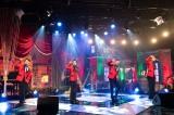 WOWOW『僕らのミュージカル・ ソング2020』第二夜(7月25日放送)『ジャージー・ボーイズ』の楽曲を披露する(左から)矢崎広、中川晃教、藤岡正明、spi