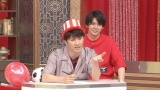 『ぐるぐるナインティナイン』に出演するジャニーズWEST(左から)�M田崇裕、小瀧望(C)日本テレビ
