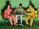 『装苑』9月号に登場するハナコ(左から)岡部大、秋山寛貴、菊田竜大 撮影:Genki Nishikawa (MILD)
