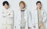 (左から)稲垣吾郎、香取慎吾、草なぎ剛