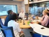 森友問題で赤木さん妻、ラジオ出演