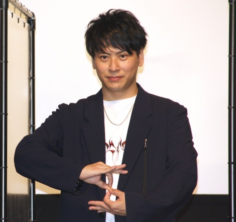 映画『八王子ゾンビーズ』公開初日舞台あいさつに出席した山下健二郎 (C)ORICON NewS inc.