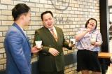 『花のれんタリーズコーヒー なんばグランド花月店』商品発表会見の模様