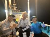 7月26日放送、『緊急SOS!池の水ぜんぶ抜く大作戦』ロンブー亮が怪魚ハンターとともに和歌山で深海の巨大魚・イシナギ&バラムツ釣りに挑戦(C)テレビ東京