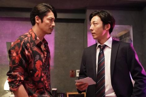 玉木宏×高橋一生による火曜ドラマ『竜の道 二つの顔の復讐者』が7月28日よりスタート (C)カンテレ