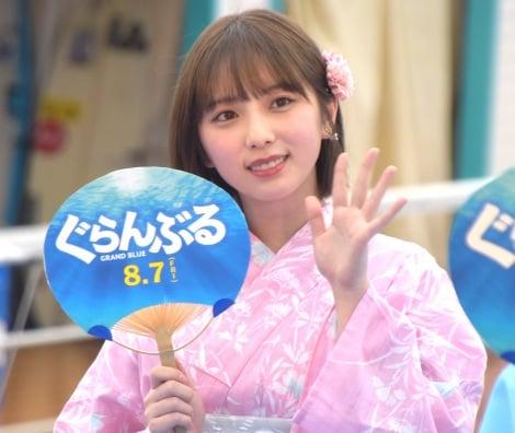 映画『ぐらんぶる』プレミアム夏祭りイベントに参加した与田祐希 (C)ORICON NewS inc.