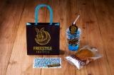 『FREESTYLE 2020 大野智 作品展』で販売される『ヒルズカフェセット』