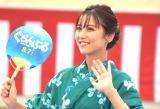 映画『ぐらんぶる』プレミアム夏祭りイベントに参加した石川恋 (C)ORICON NewS inc.