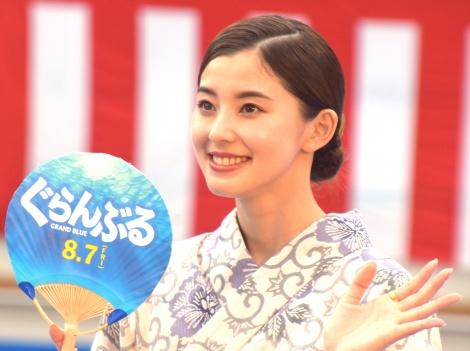 映画『ぐらんぶる』プレミアム夏祭りイベントに参加した朝比奈彩 (C)ORICON NewS inc.
