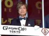 『GUNDAM Cafe TOKYO BRAND CORE』オープニングセレモニーに参加した古谷徹 (C)ORICON NewS inc.