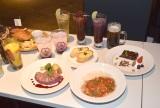 『GUNDAM Cafe TOKYO BRAND CORE』内覧会より (C)ORICON NewS inc.