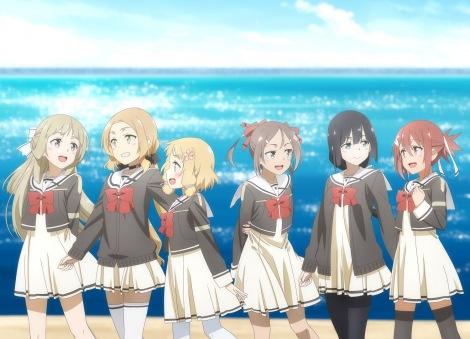 テレビアニメ『結城友奈は勇者である』第3期のキービジュアル (C)2020 Project 2H