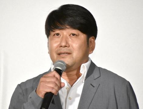 映画『リスタートはただいまのあとで』の記者会見に出席した井上竜太監督 (C)ORICON NewS inc.