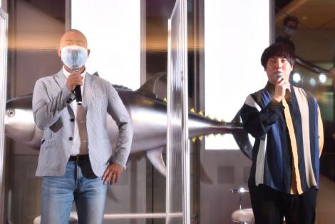 エキナカ商業施設『グランスタ東京』開業セレモニーに参加したコロコロチキチキペッパーズ(左から)ナダル、西野創人 (C)ORICON NewS inc.