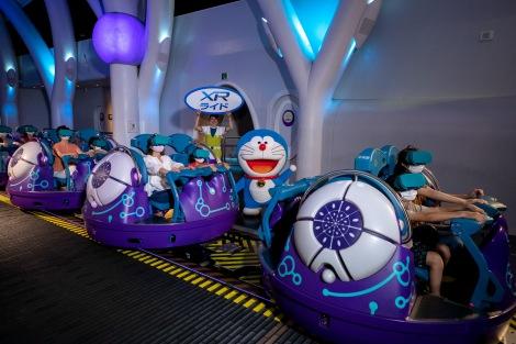 ユニバーサル・スタジオ・ジャパン × ドラえもん50周年記念『STAND BY ME ドラえもん 2』XRライド乗り場(C)Fujiko Pro/2020 STAND BY ME Doraemon 2 Film Partners
