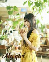 「My Girl」に掲載された雨宮天 Photo by Suguru Kumaki(io)