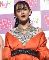 『ViVi Night in TOKYO 2018 KIRA KIRA PARTY SPRING』前の囲み取材に出席したemma (C)ORICON NewS inc.