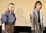 お互いの信頼感を語り合った(左から)坂口拓、山崎賢人 (C)ORICON NewS inc.