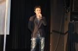 侍映画『狂武蔵』完成披露無観客イベントに出席した下村勇二監督