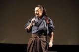 侍映画『狂武蔵』完成披露無観客イベントに出席した坂口拓