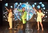 配信LIVE『MIRROR-E-STAGE』取材会に出席した(左から)宮澤佐江、コロッケ、河西智美 (C)ORICON NewS inc.