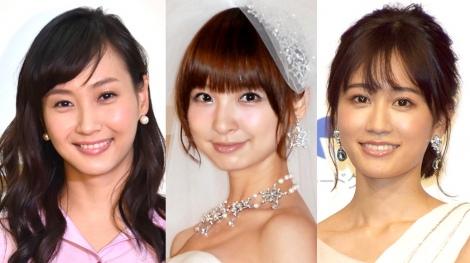 サムネイル (左から)藤本美貴、篠田麻里子、前田敦子 (C)ORICON NewS inc.