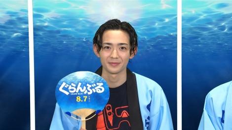 映画『ぐらんぶる』公開記念前夜祭に出席した竜星涼
