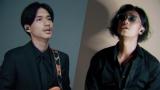 『N/A × AVIOT   WEB CM』より(左から)錦戸亮、赤西仁