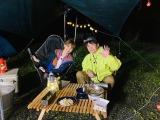 濱口&アッキーナ夫婦で初キャンプ