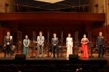 ミュージカル『ナイツ・テイル』inシンフォニックコンサートの公開ゲネプロに臨んだ堂本光一(中央)