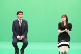 バラエティー番組『ウチの町では大ニュース』収録後オンライン取材会の模様(C)テレビ西日本