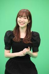 バラエティー番組『ウチの町では大ニュース』収録後オンライン取材会に出席した指原莉乃(C)テレビ西日本