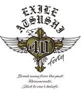 EXILE ATSUSHI6年ぶりのオリジナルアルバム『40 〜forty〜』(11月4日発売)ロゴ